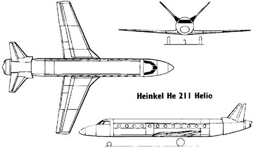 Heinkel He 211 Helio