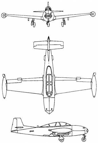 Hispano HA.200 Saeta, Super Saeta, HA.220 (Spain) (1955)