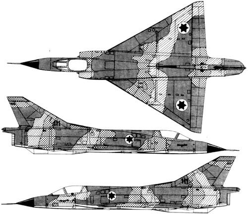 IAI Mirage IIIC GE J79