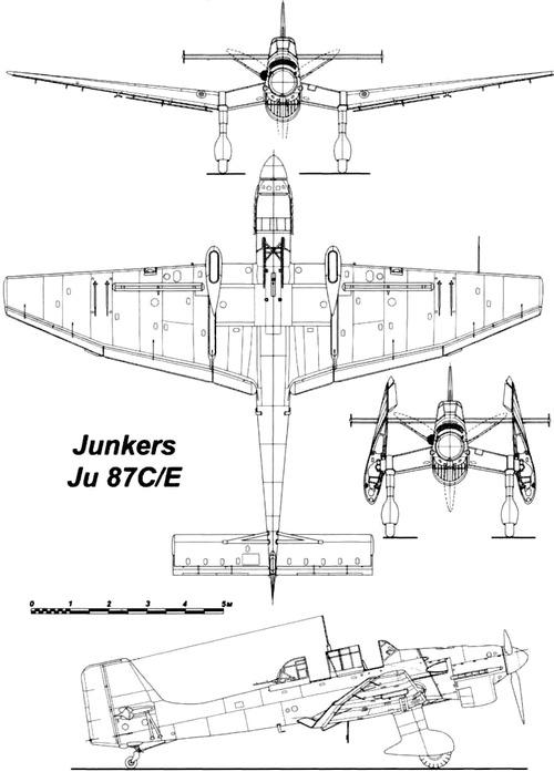 Junkers Ju 87CE Stuka