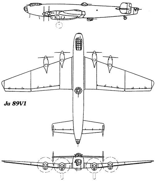 Junkers Ju 89V-1