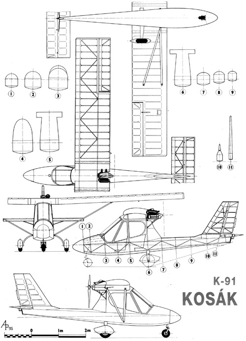 Kossak K91 Ultralight