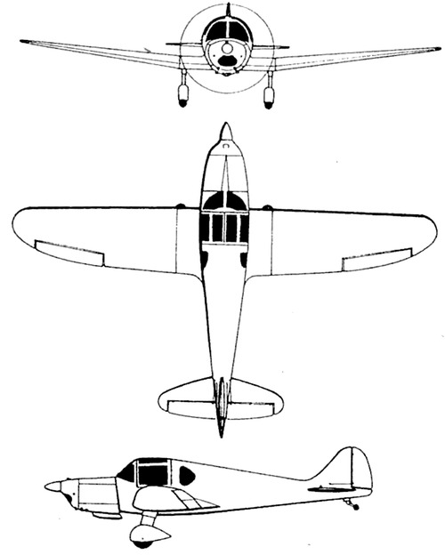 La SFCA Avions Maillet-Taupin-Lignel L-46 Coach