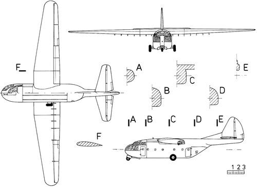 Laister-Kauffman XCG-10A Trojan Horse
