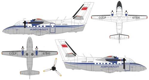LET L-410UVP Turbolet