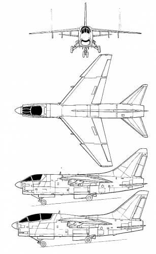 LTV A-7D Corsair II