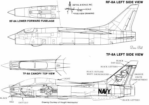 LTV F-8E Crusader