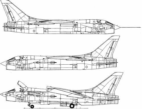 LTV F-8F Crusader