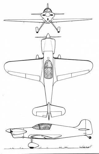Max Plan MP-250 Busard