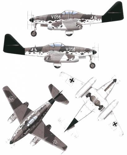 Messerschmitt Me262A-1a-U2