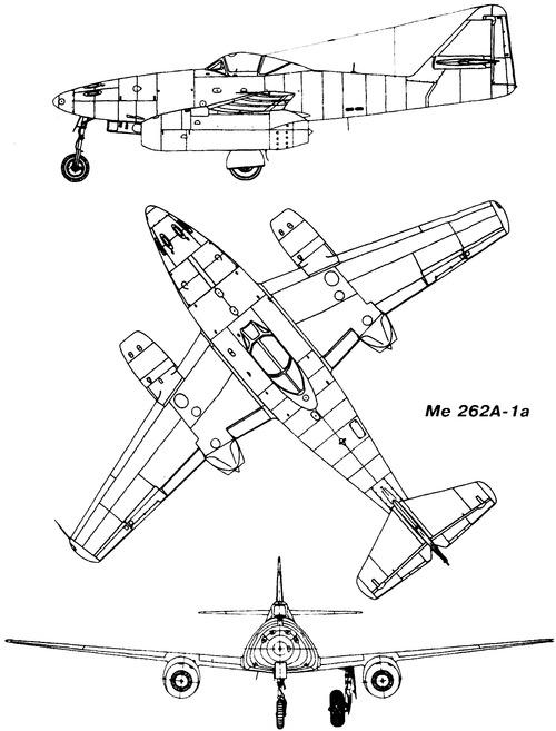 Messerschmitt Me 262A-1a Schwalbe