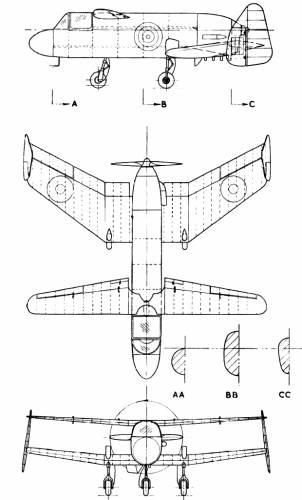 Miles M-35 Libellula