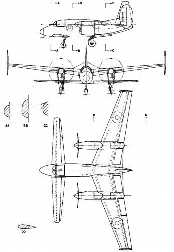 Miles M-39b Libellula