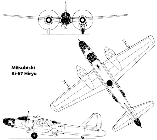 Mitsubishi Ki-67 Hiryu [Peggy]