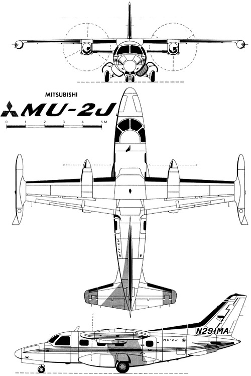 Mitsubishi MU-2J