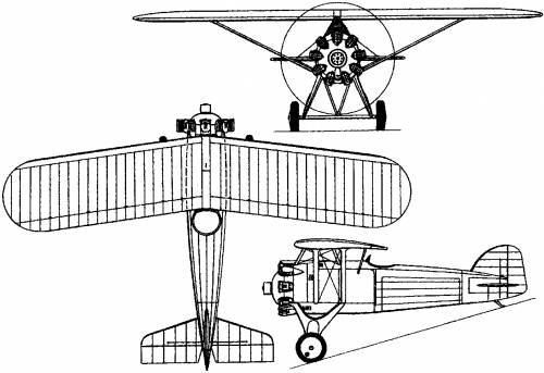 Morane-Saulnier M.S.221 - 223 (France) (1928)