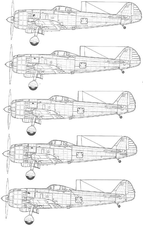 Nakajima Ki-84 Hayate [Frank]