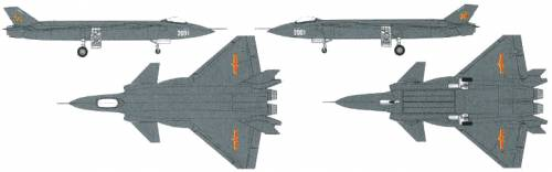 PLA J-20 Stealth Fighter