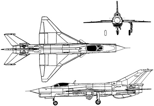 PLAAF Chengdu F-7 MF (MiG-21)