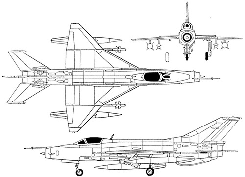 PLAAF Chengdu F-7MG