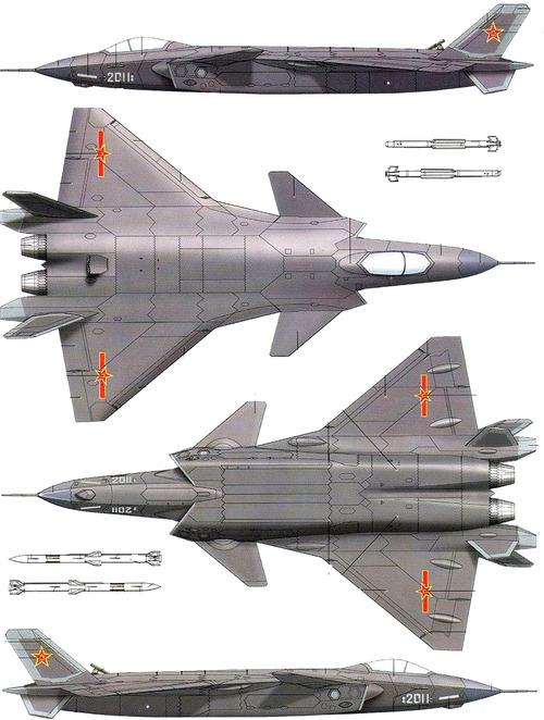 PLAAF Chengdu J-20 Mighty Dragon
