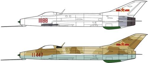 PLAAF Chengdu J-7