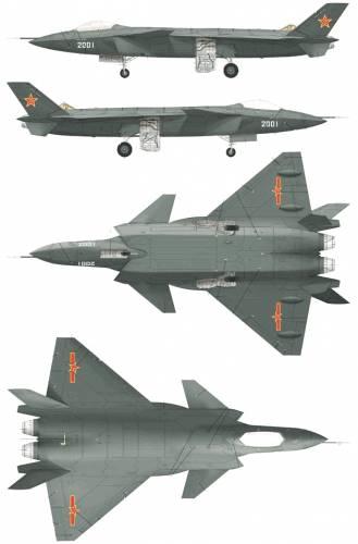 PLAAF J-20 Mighty Dragon