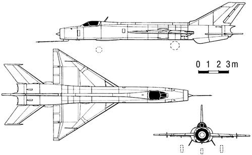 PLAAF SAC J-8I Finback A