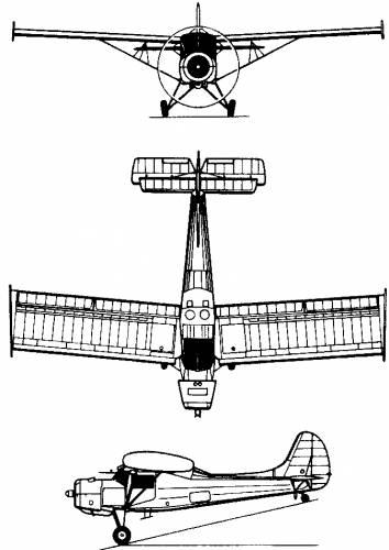 PZL 101 Gawron (Poland) (1958)