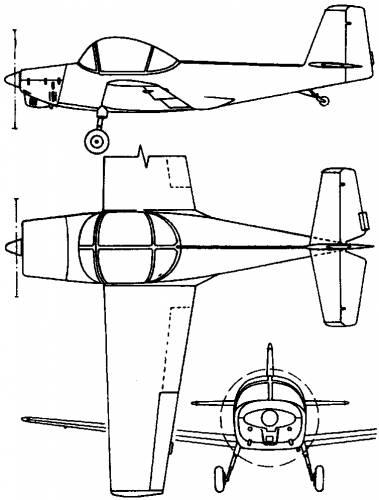 PZL 102B (Poland) (1958)