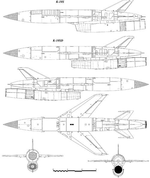 Raduga K-10S (AS-2 Kipper)