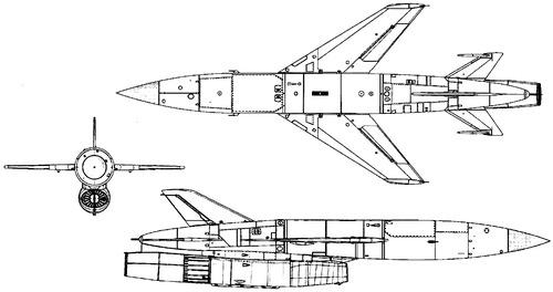 Raduga K-10SD AS-2 Kipper