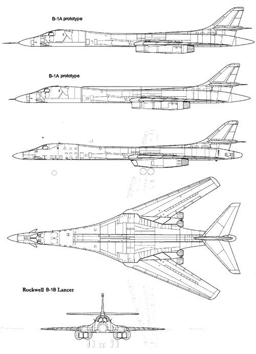 Rockwell B-1 Lancer