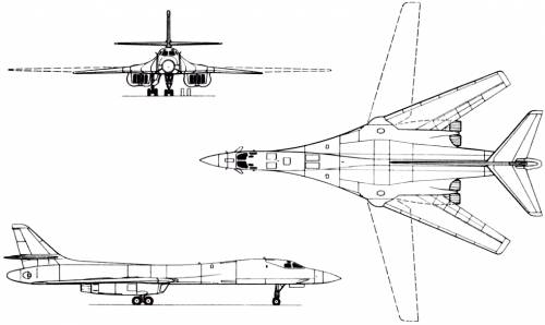 Rockwell B-1 Lancer (USA) (1983)