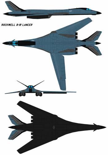 Rockwell B-1R Lancer