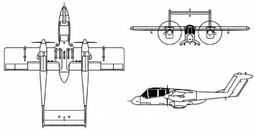 Rockwell International OV-10 Bronco