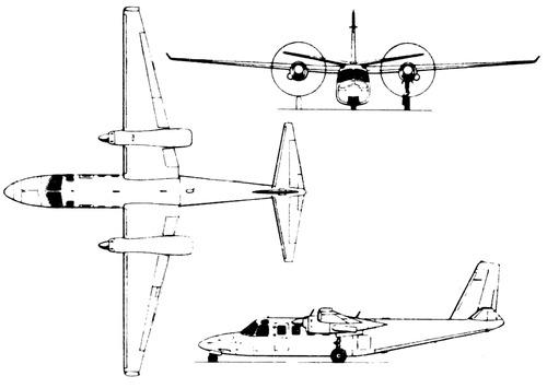 Rockwell Jet Prop Commander 1000
