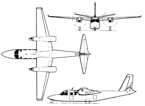 Rockwell Jet Prop Commander 840