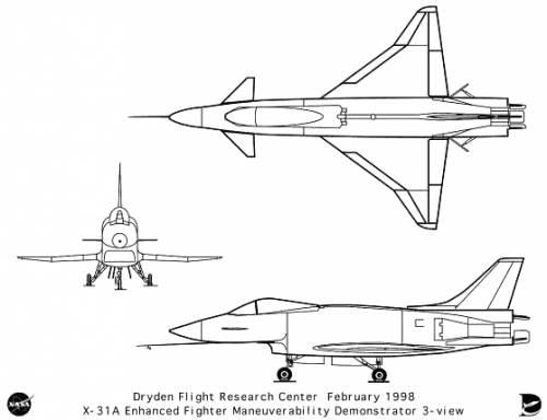 Rockwell-MBB X-31