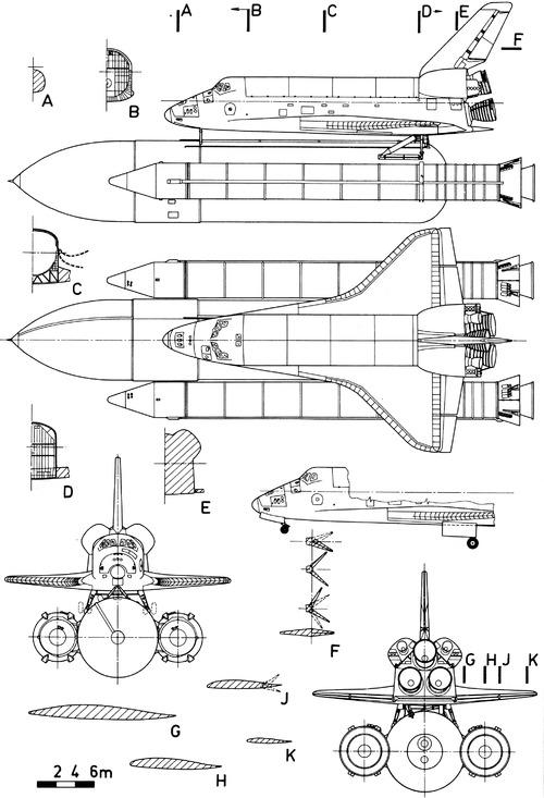 Rockwell OV-102 Columbia Space Shuttle