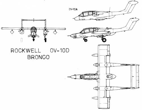 Rockwell OV-10D Bronco