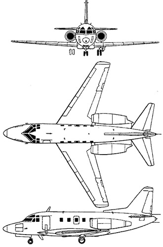 Rockwell Sabre 75A