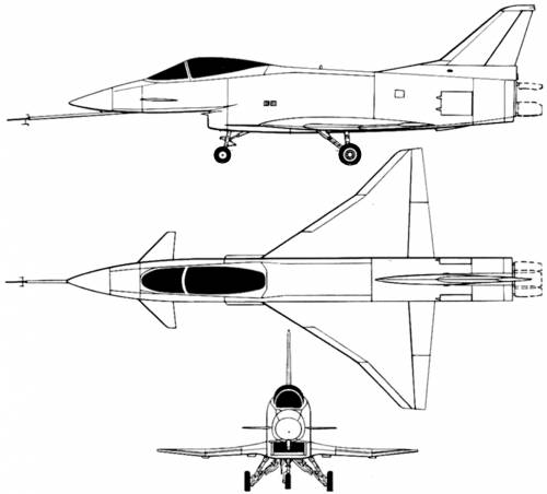 Rockwell X-31