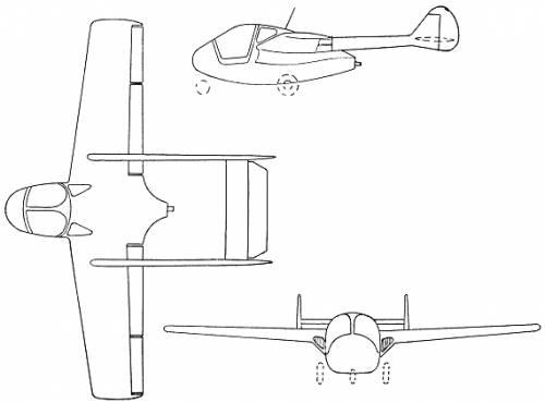 SIPA S.200 Minijet (France) (1952)