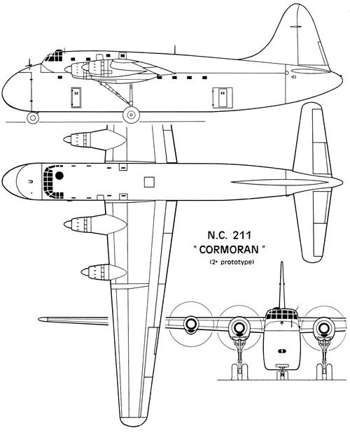 SNCAC NC.211 Cormoran
