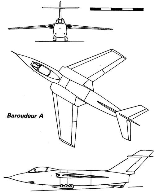 SNCASE S.E.5000 Baroudeur A