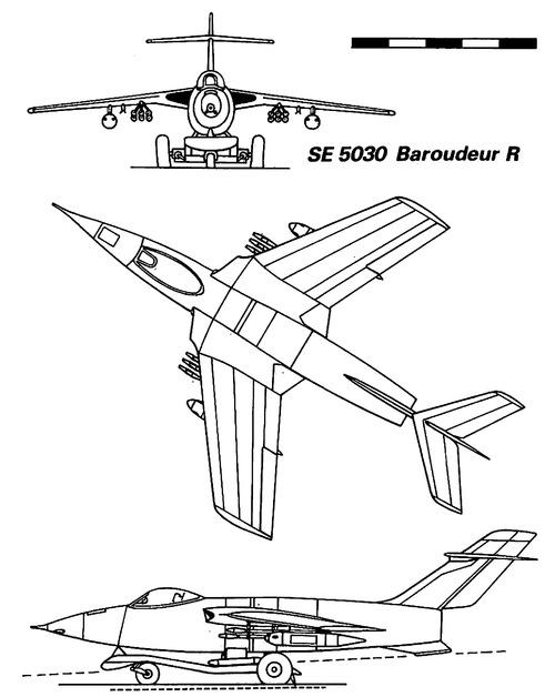 SNCASE S.E.5030 Baroudeur R