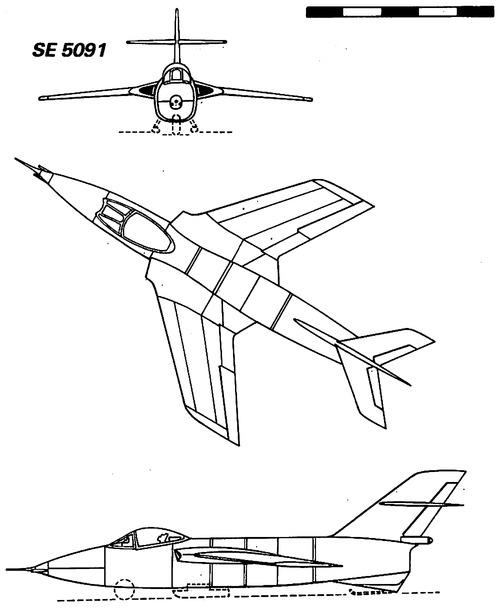 SNCASE S.E.5091