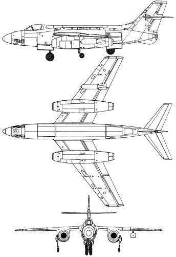 SNCASO SO-4050 Vautour IIA