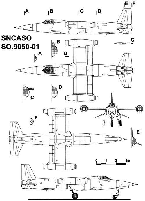 SNCASO SO.9050-01 Trident II